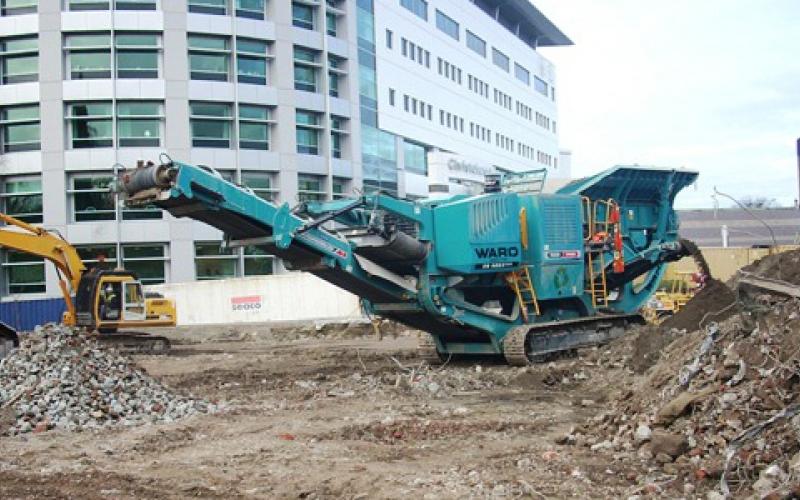 XR400S à Christchurch, Nouvelle-Zélande suit 2011 tremblement de terre
