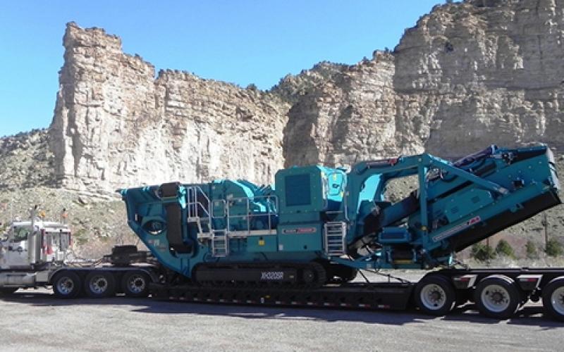 Powerscreen XH320SR - Utah, USA